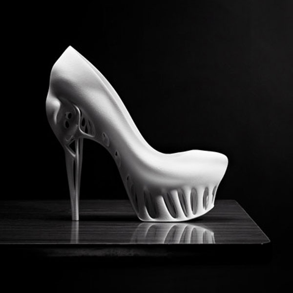 Biomimicry 3D-Printed Shoe