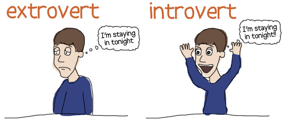 Introverts Versus Extroverts