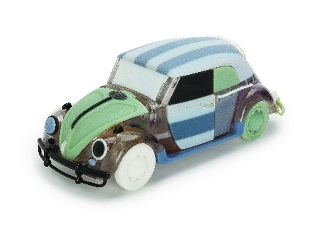 A Really Ugly Plastic Car