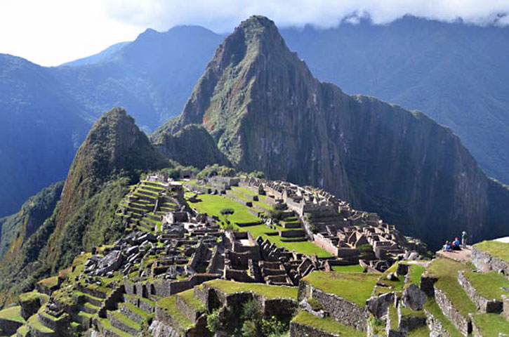Classic View with Wayna Picchu in Background