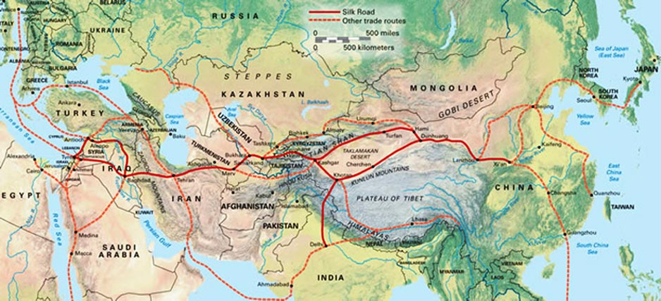the establishment and impact of the silk and spice trade in asia Moreover, many other goods, like silk and spices  southeast asia during the spice trade 5:26 the columbian exchange, global trade & mercantilism related study.